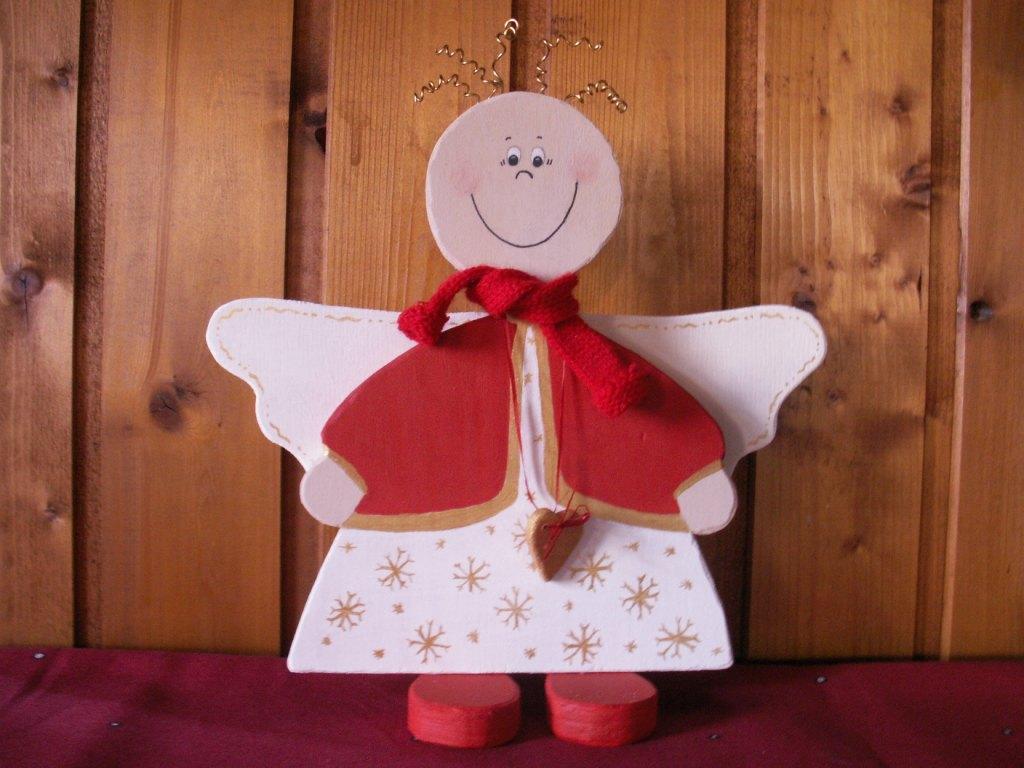 Karinkreativ holzfiguren weihnachten seite 3 - Schutzengel basteln aus holz ...